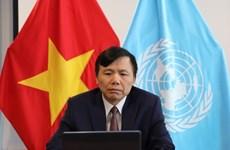 ONU : le Vietnam appelle à maintenir l'engagement d'aide humanitaire envers le peuple