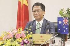 Le Vietnam et l'Australie promeut le commerce et l'investissement après la pandémie de COVID-19