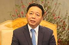 """Le ministre Tran Hong Ha: """"Déterminer la direction de la protection de l'environnement"""""""