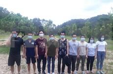 Arrestation de plusieurs personnes pour entrée illégale au Vietnam