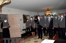 Cérémonies à la mémoire de l'ancien secrétaire général du PCV Lê Kha Phiêu en Europe