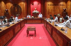Inspection de la mission de prévention et de lutte contre les catastrophes naturelles à Tien Giang