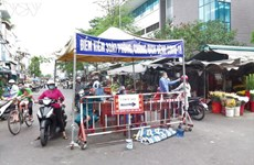 Covid-19: Quang Ngai maintient la distanciation sociale