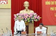 Le vice-Premier ministre  Truong Hoa Binh à Quang Ninh