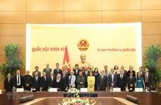 Tong Thi Phong rencontre des diplomates des pays de l'ASEAN et des observateurs de l'AIPA