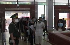Plus de 110 migrants chinois illégaux renvoyés via la porte-frontière internationale de Lao Cai
