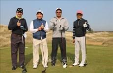 Tournoi de golf en l'honneur des 70 ans d'établissement des liens diplomatiques Vietnam-Russie