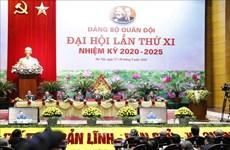 Ouverture du 11e Congrès de l'Organisation du Parti de l'Armée populaire du Vietnam