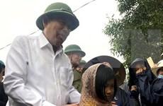 Le vice-Premier ministre Truong Hoa Binh à Quang Tri
