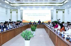Les responsables de Ho Chi Minh-Ville rencontrent des Viet kieu