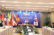 ASEAN 2020 : le PM préside le 21e sommet ASEAN-R. de Corée