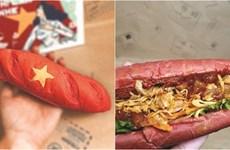 Le bánh mì rouge et jaune, une création patriotique
