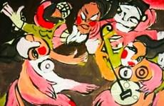 """Une exposition propose une interprétation de """"Conte de Kieu"""" à travers des peintures contemporaines"""