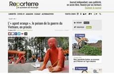 """La presse française évalue le """"procès historique"""" pour des victimes de l'agent orange du Vietnam"""