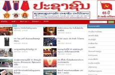 Un journal lao salue l'œuvre de construction du socialisme du Vietnam