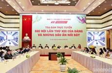 Table-ronde en ligne sur le 13e Congrès national du PCV