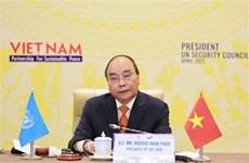 La confiance et le dialogue sont essentiels pour une paix durable, selon le président vietnamien