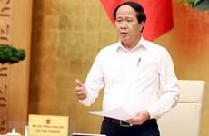 Lê Van Thành, chef de la Direction nationale contre la pêche illicite, non déclarée et non réglement