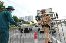 COVID-19 : Hanoï régule le trafic pour éviter les embouteillages aux portes de la ville