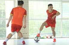 La FIFA salue l'équipe vietnamienne de futsal avant la Coupe du monde 2021