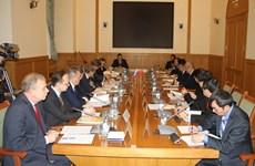 Réunion du Comité de coordination intergouvernemental pour le Centre tropical vietnamo-russe