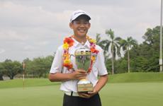Le Vietnamien Dang Quang Anh inscrit au classement mondial pour les golfeurs amateurs