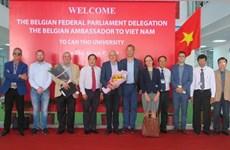 La Belgique souhaite coopérer avec l'Université de Can Tho