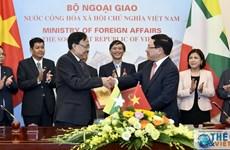 La 9e réunion du Comité mixte sur la coopération Vietnam-Myanmar