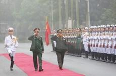 Une délégation de l'Armée populaire du Laos effectue une visite officielle au Vietnam