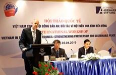 """""""Le Vietnam au Conseil de sécurité des Nations Unies: Partenaire pour une paix durable"""""""