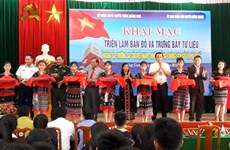 Exposition sur Hoang Sa et Truong Sa à Quang Nam