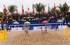 Ouverture du Championnat du monde de volley-ball de plage féminin de Tuan Chau 2019