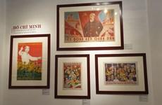 """Ouverture de l'exposition """"Le portrait de Hô Chi Minh à travers les affiches de propagande"""""""