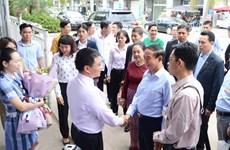 Vesak 2019 : le président birman visite la baie d'Ha Long