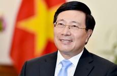 Le vice-PM et ministre des AE Pham Binh Minh participera  au Forum « Avenir de l'Asie »