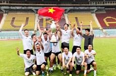Intégration des Vietnamiens à travers le tournoi de football du Sénat tchèque 2019