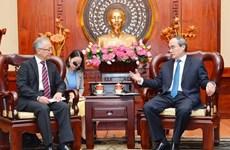 Ho Chi Minh-Ville accélère l'avancement des projets financés par JICA