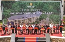 Ouverture du site de villégiature Saigon - Ba Bê