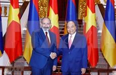 Le Premier ministre arménien termine sa visite officielle au Vietnam
