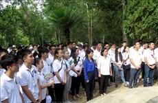 Camp d'été 2019 : Les jeunes Viêt kiêu en visite dans la province de Quang Ngai