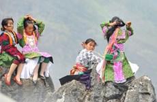L'innocence des enfants sur le plateau calcaire de Dông Van