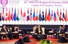 Ouverture du 26e Forum régional de l'ASEAN