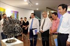 Ouverture du 1er programme d'échange et d'exposition internationaux de beaux-arts à Da Nang