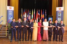La cérémonie de célébration du 52e anniversaire de la fondation de l'ASEAN en Australie