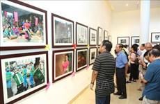 Ouverture de l'exposition photographique « La beauté des Hanoïens »