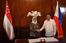 Renforcement de la coopération dans la défense et l'économie Philippines - Singapour