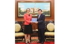 Ho Chi Minh-Ville et l'Allemagne promeuvent leur coopération dans de nombreux domaines