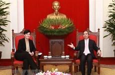 La SFI et la BAD s'engagent à continuer de soutenir le Vietnam dans son développement durable