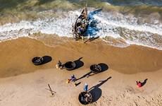 La vie quotidienne des pêcheurs vietnamiens à travers des clichés