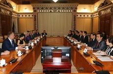 Ho Chi Minh-Ville et le land allemand de Saxe-Anhalt promeuvent la coopération dans l'éducation
